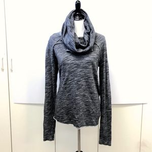 Free People Beach cowl neck pop over 100% cotton